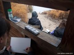 Soto de las Juntas. Parque Regional del Sureste. Rivas-Vaciamadrid. Jornada de apuntes al aire libre con el taller de apuntes del natural de Prima Littera.