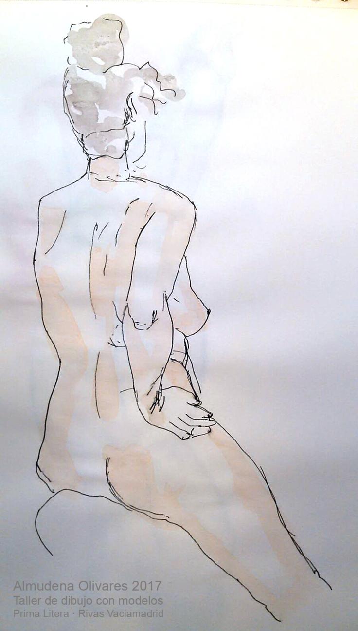 Taller de dibujo con modelos