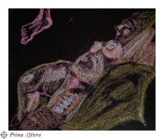 Bocetos sobre lija. Taller de apuntes y dibujo del natural. Universidad Popular de Rivas Vaciamadrid. Asociación Cultual Prima Littera. info@primalittera.es www.primalittera.es