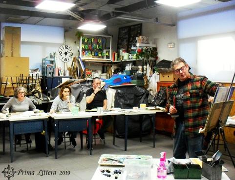 Vista general del taller de Prima Littera
